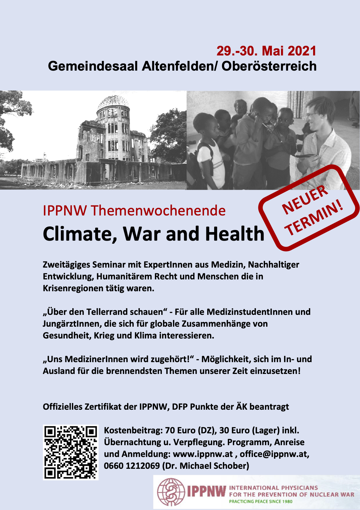 IPPNW Themenwochenende November 2020