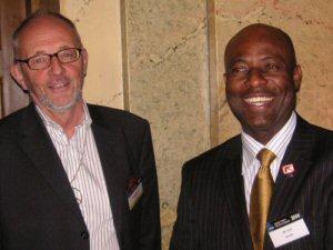 Gunnar Westberg und Ime John, Co-Präsidenten der IPPNW